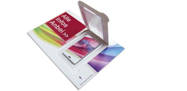 USB Postkarte