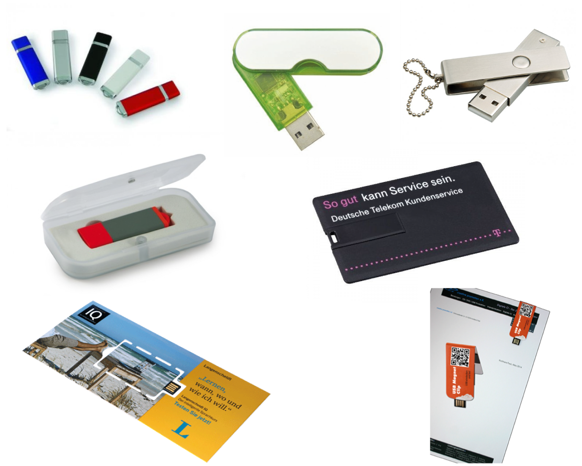 USB Stick Programm creative promotion
