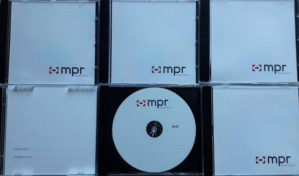 DVDs bedrucken
